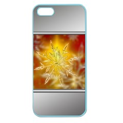 Christmas Candles Christmas Card Apple Seamless Iphone 5 Case (color)