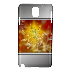 Christmas Candles Christmas Card Samsung Galaxy Note 3 N9005 Hardshell Case