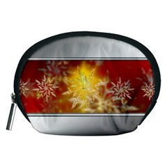Christmas Candles Christmas Card Accessory Pouches (medium)