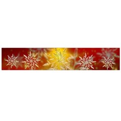 Christmas Candles Christmas Card Large Flano Scarf