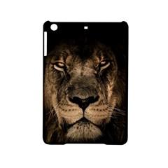 African Lion Mane Close Eyes Ipad Mini 2 Hardshell Cases
