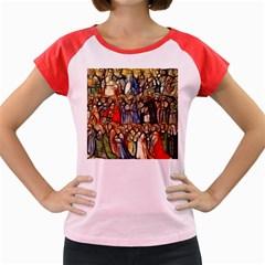 All Saints Christian Holy Faith Women s Cap Sleeve T Shirt
