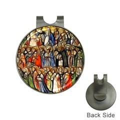 All Saints Christian Holy Faith Hat Clips With Golf Markers