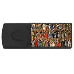 All Saints Christian Holy Faith Rectangular Usb Flash Drive