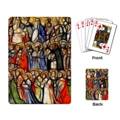 All Saints Christian Holy Faith Playing Card