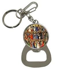 All Saints Christian Holy Faith Button Necklaces