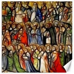 All Saints Christian Holy Faith Canvas 20  X 20