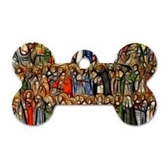 All Saints Christian Holy Faith Dog Tag Bone (one Side)