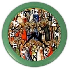 All Saints Christian Holy Faith Color Wall Clocks