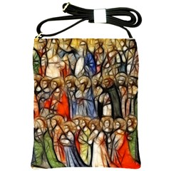 All Saints Christian Holy Faith Shoulder Sling Bags