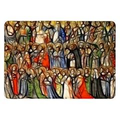 All Saints Christian Holy Faith Samsung Galaxy Tab 8 9  P7300 Flip Case