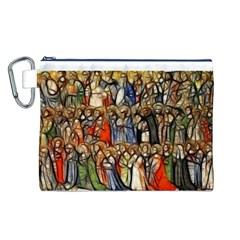 All Saints Christian Holy Faith Canvas Cosmetic Bag (l)