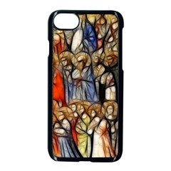 All Saints Christian Holy Faith Apple Iphone 8 Seamless Case (black)