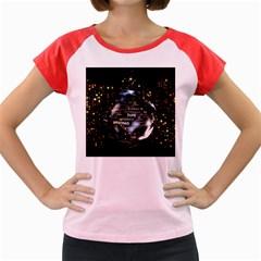 Christmas Star Ball Women s Cap Sleeve T Shirt