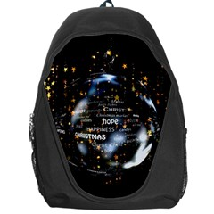 Christmas Star Ball Backpack Bag