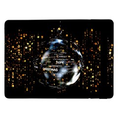 Christmas Star Ball Samsung Galaxy Tab Pro 12 2  Flip Case