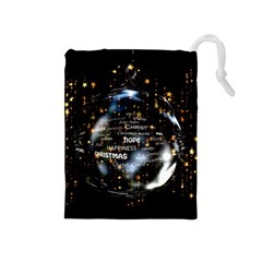 Christmas Star Ball Drawstring Pouches (medium)