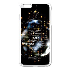 Christmas Star Ball Apple Iphone 6 Plus/6s Plus Enamel White Case