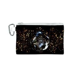 Christmas Star Ball Canvas Cosmetic Bag (s)