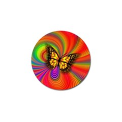 Arrangement Butterfly Aesthetics Golf Ball Marker (4 Pack)
