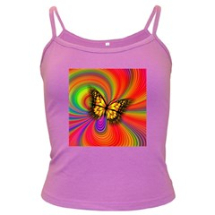 Arrangement Butterfly Aesthetics Dark Spaghetti Tank
