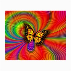 Arrangement Butterfly Aesthetics Small Glasses Cloth