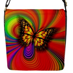 Arrangement Butterfly Aesthetics Flap Messenger Bag (s)