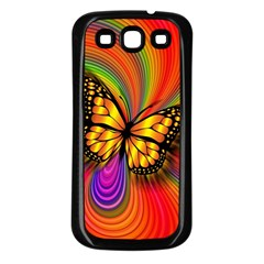 Arrangement Butterfly Aesthetics Samsung Galaxy S3 Back Case (black)
