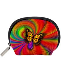 Arrangement Butterfly Aesthetics Accessory Pouches (small)