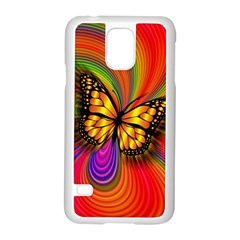 Arrangement Butterfly Aesthetics Samsung Galaxy S5 Case (white)
