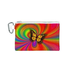 Arrangement Butterfly Aesthetics Canvas Cosmetic Bag (s)