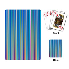 Colorful Color Arrangement Playing Card