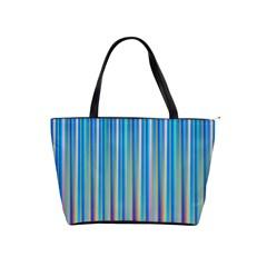 Colorful Color Arrangement Shoulder Handbags