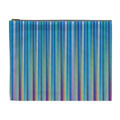 Colorful Color Arrangement Cosmetic Bag (xl)