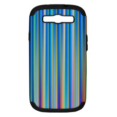 Colorful Color Arrangement Samsung Galaxy S Iii Hardshell Case (pc+silicone)
