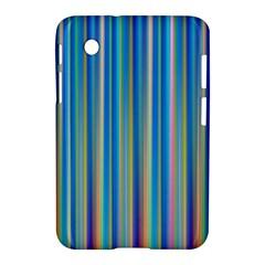 Colorful Color Arrangement Samsung Galaxy Tab 2 (7 ) P3100 Hardshell Case