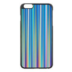 Colorful Color Arrangement Apple Iphone 6 Plus/6s Plus Black Enamel Case