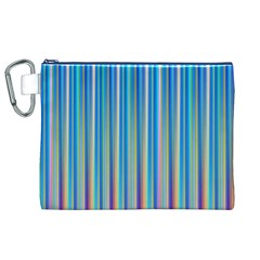 Colorful Color Arrangement Canvas Cosmetic Bag (xl)