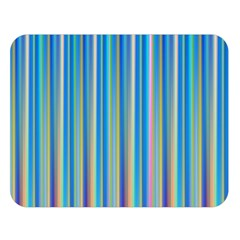 Colorful Color Arrangement Double Sided Flano Blanket (large)