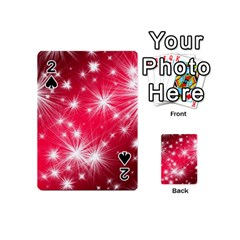 Christmas Star Advent Background Playing Cards 54 (mini)