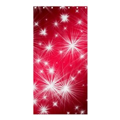 Christmas Star Advent Background Shower Curtain 36  X 72  (stall)