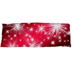 Christmas Star Advent Background Body Pillow Case Dakimakura (two Sides)