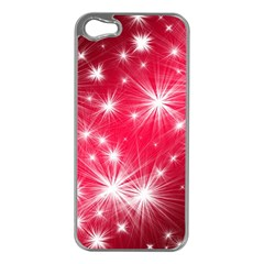 Christmas Star Advent Background Apple Iphone 5 Case (silver)