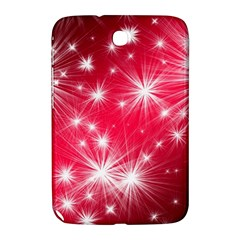 Christmas Star Advent Background Samsung Galaxy Note 8 0 N5100 Hardshell Case