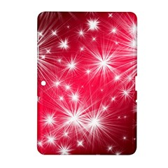 Christmas Star Advent Background Samsung Galaxy Tab 2 (10 1 ) P5100 Hardshell Case