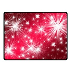 Christmas Star Advent Background Double Sided Fleece Blanket (small)