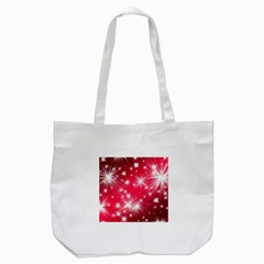 Christmas Star Advent Background Tote Bag (white)