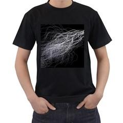 Flash Black Thunderstorm Men s T Shirt (black)
