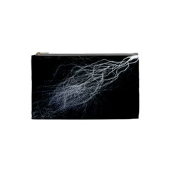 Flash Black Thunderstorm Cosmetic Bag (small)
