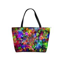 Background Color Pattern Structure Shoulder Handbags
